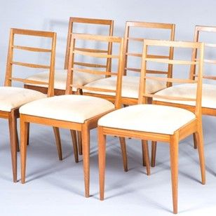 set of 6 dining chairs by gplan