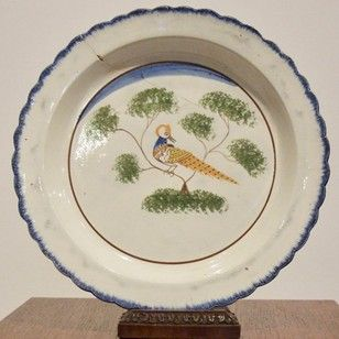 18th c english delft charger