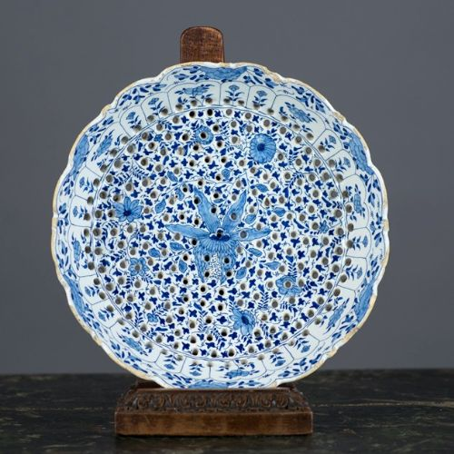 english delft cress dish