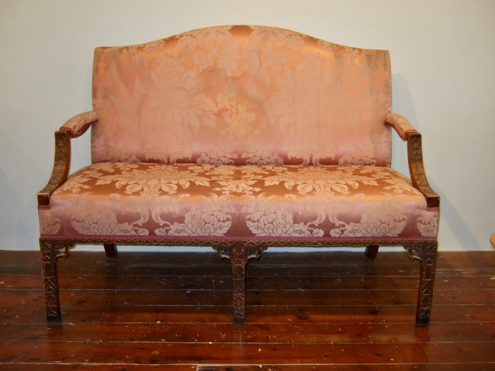 chippendale sofa copy