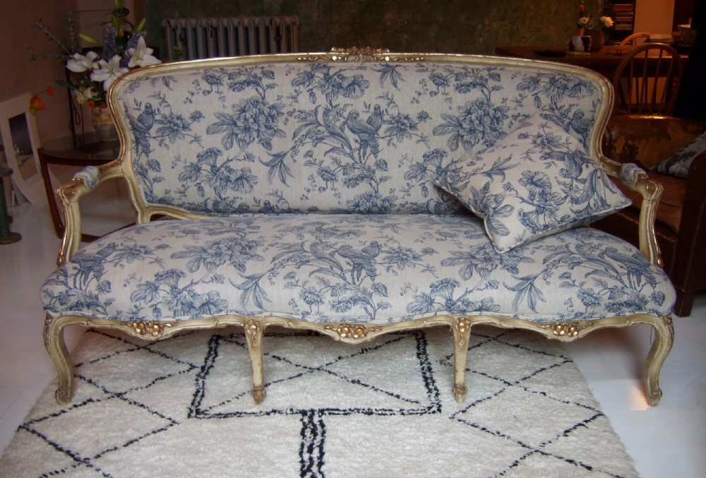 french sofa 19thc three seater