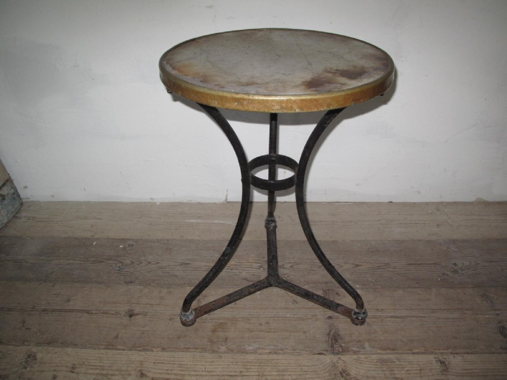 french bistro table late 19thc