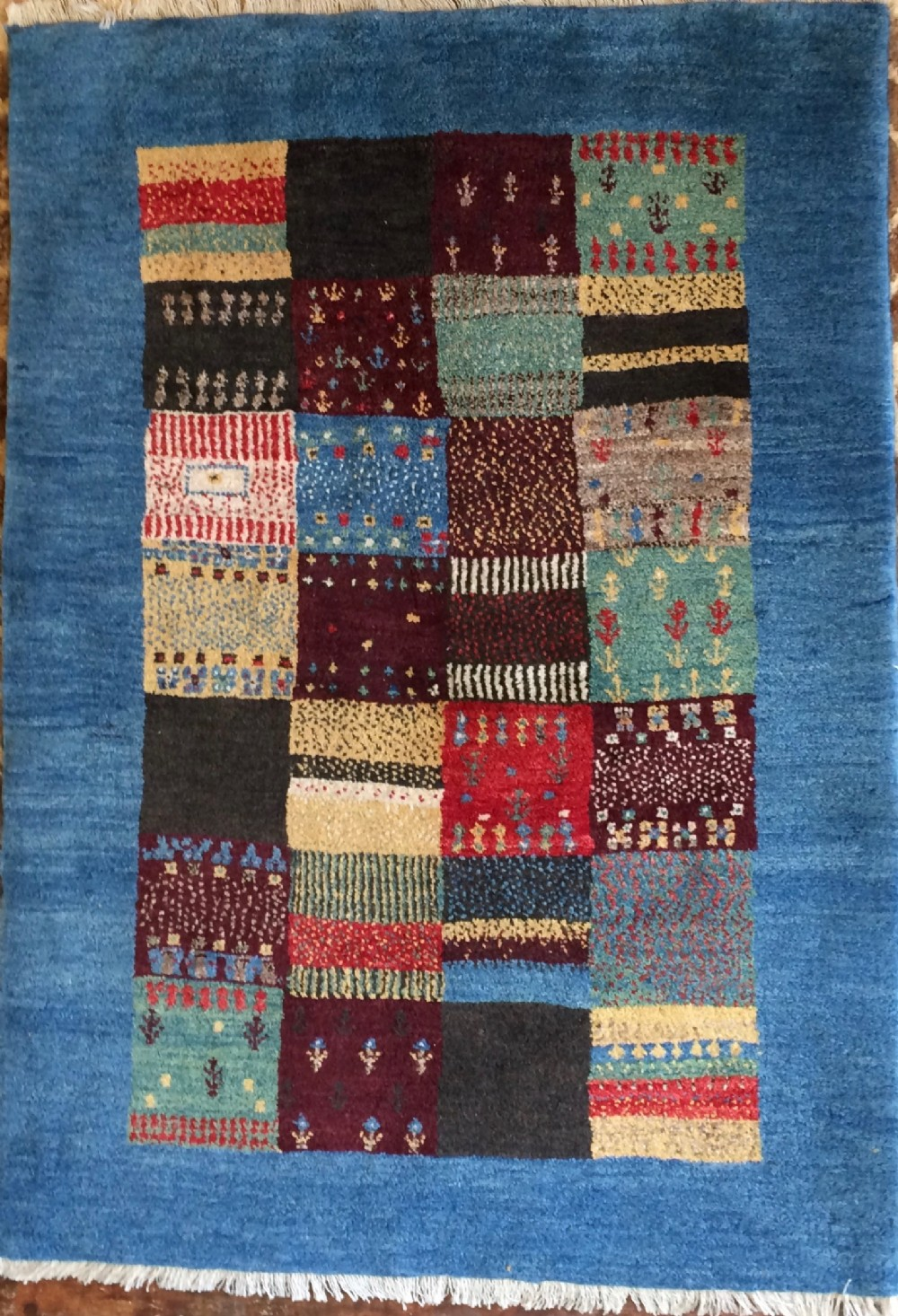 persian gabbeh hand knotted