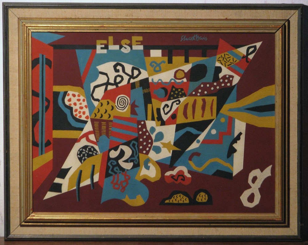 painting else stuart davis c 1956