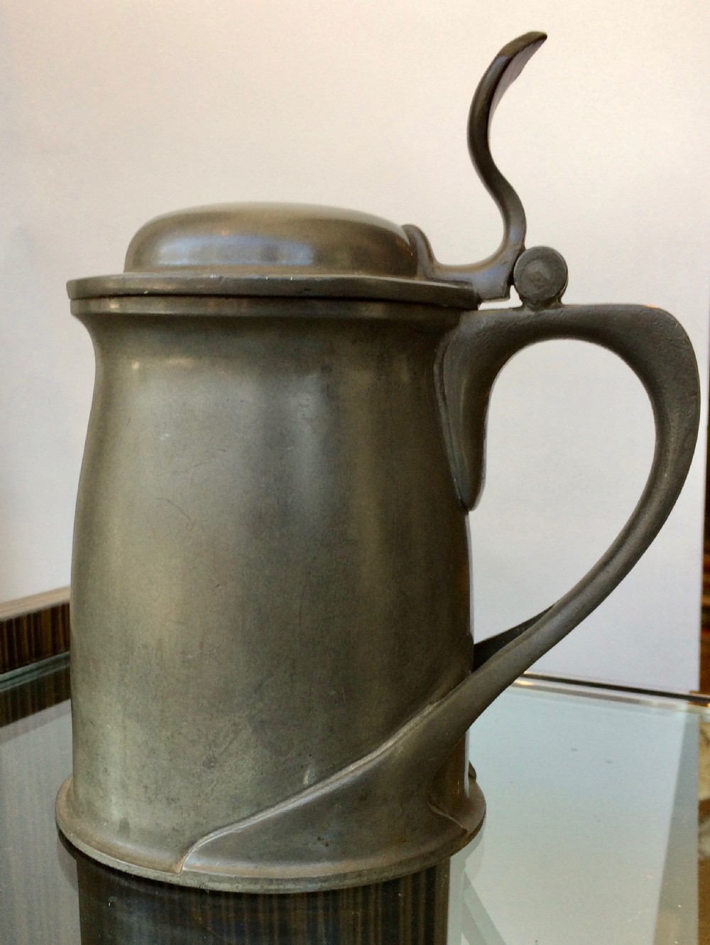 pewter tankard by archibald knox by tudoric for liberty's