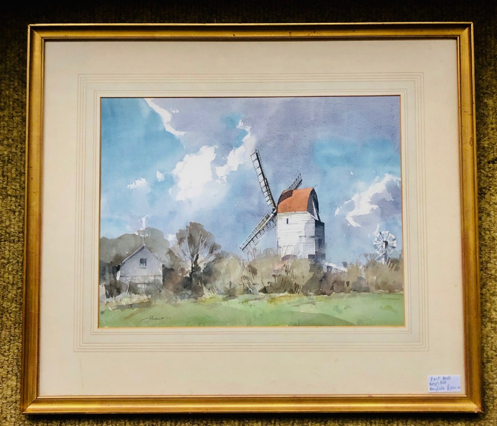 stanley orchart painting windmill at argos hill